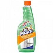 Купить Mr. Muscle Сменная бутылка Профессионал для стекол 500мл с Нашатырным спиртом