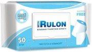 Купить Mon Rulon туалетная бумага влажная c пластиковым клапаном 50шт