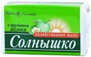 Купить Невская Косметика Солнышко мыло хозяйственное 140г с Ароматом яблока