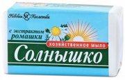Купить Невская Косметика Солнышко мыло хозяйственное 140г с экстрактом ромашки