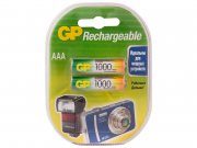 Купить GP аккумулятор R03 1000mah AAA мизинчиковый, цена за 2шт