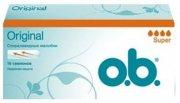 Купить O.B. тампоны Original Super 16шт 4 капли