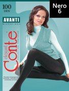 Купить Conte Колготки Avanti Microfibra 100 den Nero (Черный) размер 6-XXL