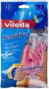 Купить Vileda перчатки латексные для деликатных работ 1 пара размер L