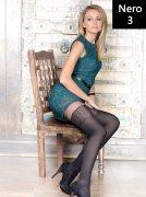 Купить Conte Колготки Fantasy Piano Fashion 50 den Nero (Черный) размер 3-M