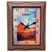 Купить Scarlett SC 25M Часы настенные