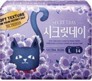Купить Secret Day прокладки ультратонкие дышащие органические 28 см 14шт