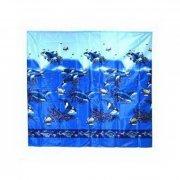 Купить Спецторг штора для ванной комнаты Подводный мир 170х175см