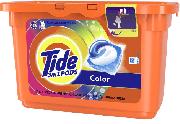 Купить Tide гель-капсулы для стирки 12шт Color цветного белья