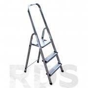 Купить Hitt H-04-03 Стремянка стальная Zeta 3 ступени высота 1,32м