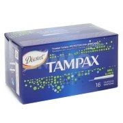 Купить Tampax тампоны Super 16шт 3 капли с аппликатором