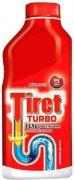 Купить Tiret Turbo гель для удаления засоров в канализационных трубах 500мл красный