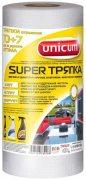 Купить Unicum супер тряпка для уборки отрывная многоразовая 30*24см 77шт в рулоне