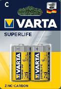 Купить Varta батарейка R14 C солевая Superlife 1,5v, цена за 1шт