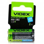 Купить Videx батарейка алкалиновая LR03 AAA мизинчиковая 1,5v, цена за 1шт