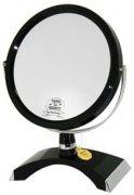 """Купить Зеркало B6""""300 BLK/C Black настольное круглое двухстороннее 5-кр.ув.15 см"""