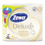 Купить Zewa Deluxe туалетная бумага трехслойная 4шт Aroma spa