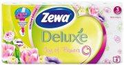 Купить Zewa Deluxe туалетная бумага трехслойная 8шт Ромашка